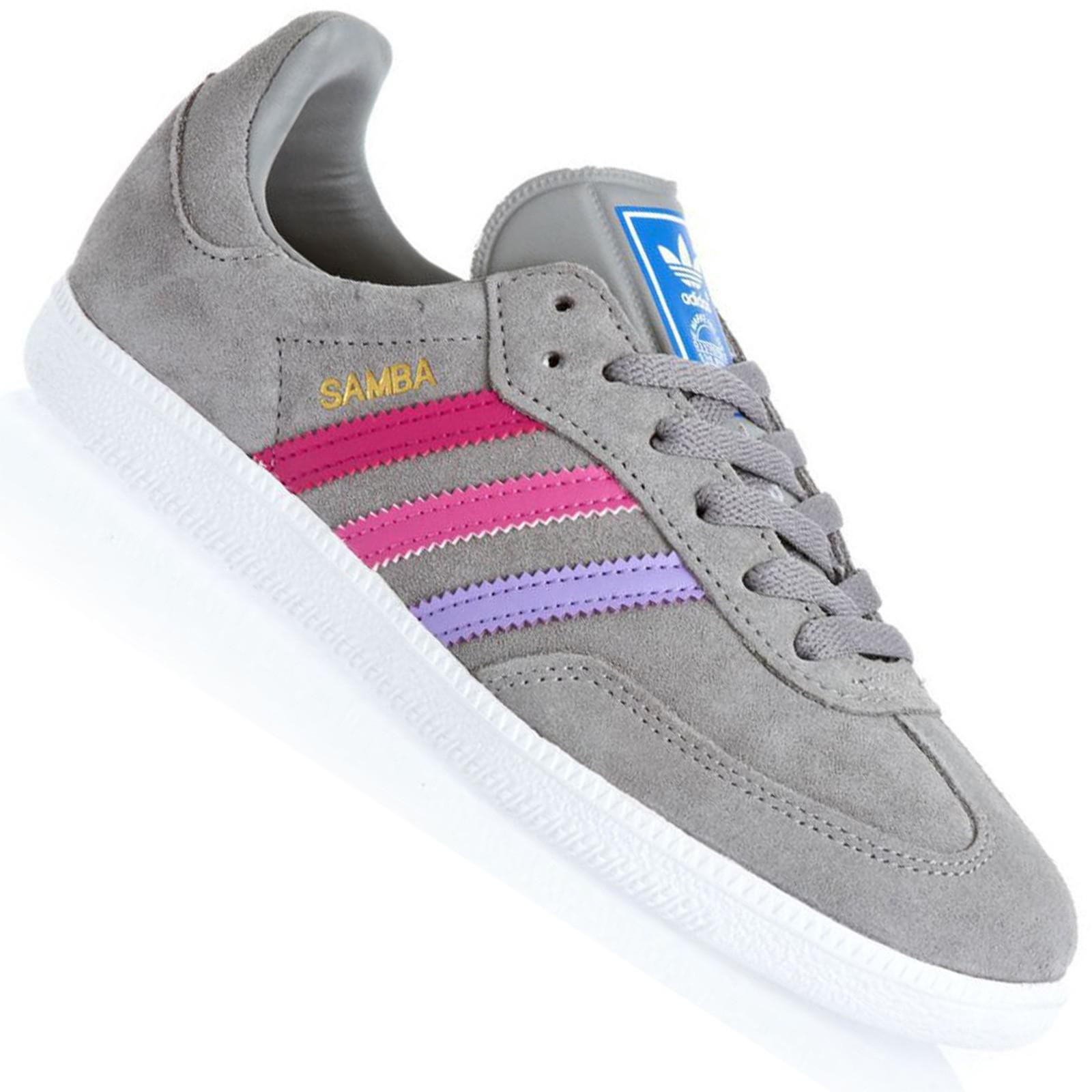 reputable site f5bdf 6f556 Kinder Sneaker Samba Schuhe Originals Grau Adidas Leder Pink Vintage  tqpaEwA5x
