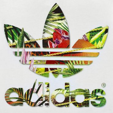 ADIDAS ORIGINALS Trefoil Flower Shirt – Bild 2