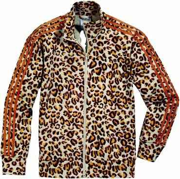 ADIDAS ORIGINALS X JEREMY SCOTT Firebird Tracktop Leopard – Bild 1