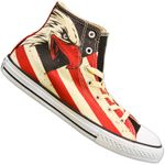 CONVERSE ALL STAR CHUCKS TAYLOR HI BALD EAGLE USA US ADLER SCHUHE 645156C 001