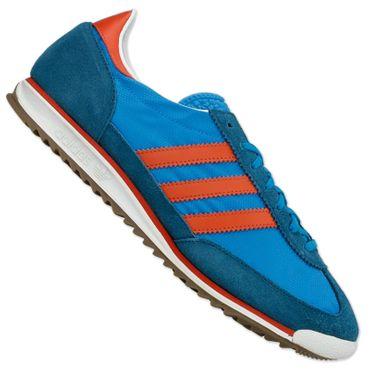 ADIDAS ORIGINALS SL72 Sneaker blau/rot – Bild 1