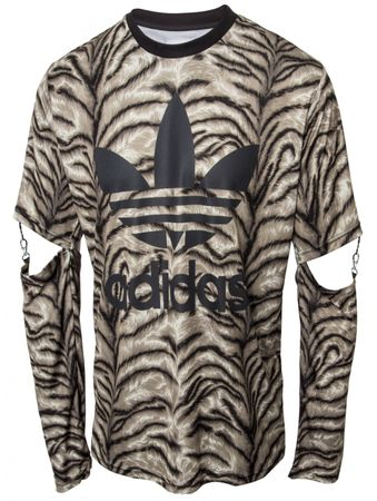 ADIDAS ORIGINALS X JEREMY SCOTT Tiger Slash Shirt – Bild 1