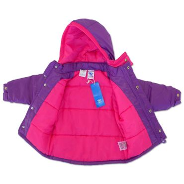 ADIDAS ORIGINALS Baby Padded Winterjacke – Bild 3