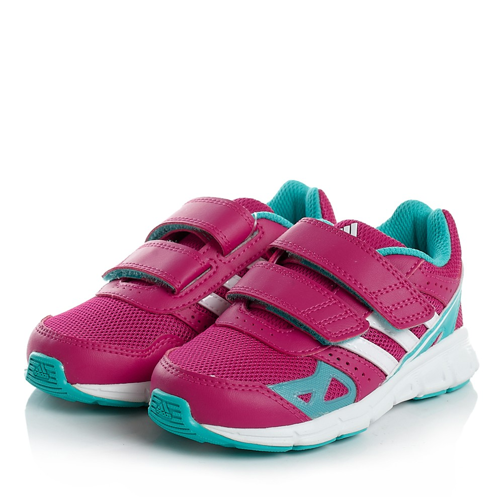 differently closer at best price ADIDAS HYPER FAST CF KINDER SPORT SCHUHE 3S ESS BABY SNEAKER PINK WEISS 22