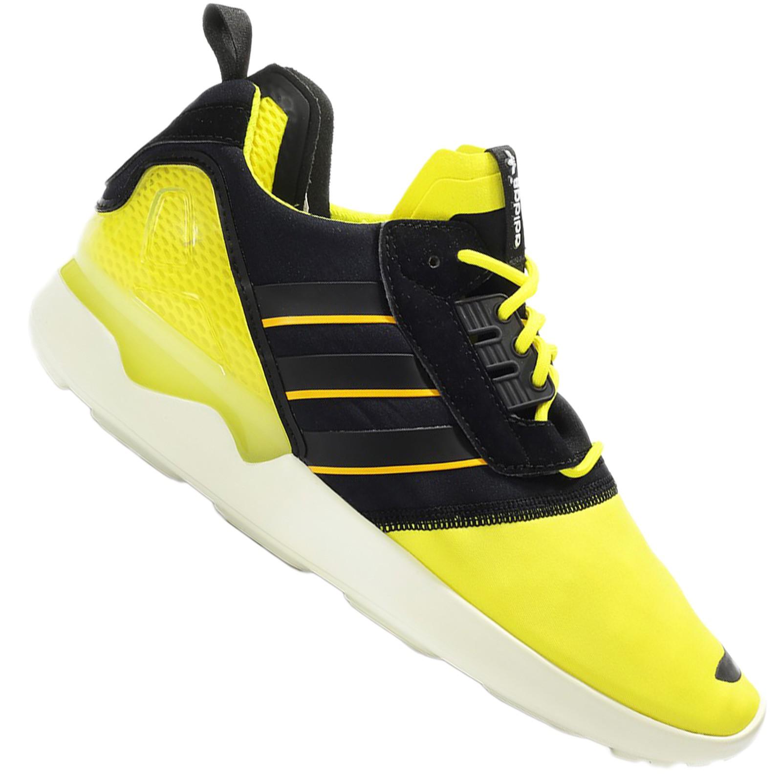 sneakers adidas schwarz gelb