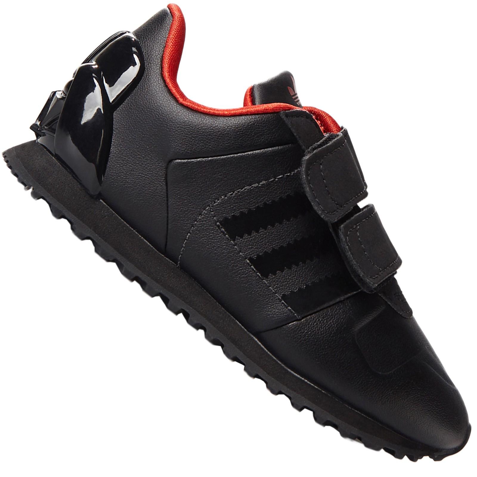 Zu Adidas Darth Wars Star Sneaker Schwarz Details Rot 700 Vader Schuhe Originals Zx Kinder Kc1JlF