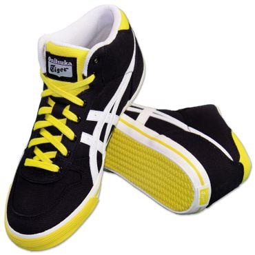 buy popular 01340 42328 Asics Onitsuka Tiger Aaron mi Top Chaussures Baskets Mexico 66 Noir ...