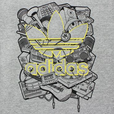 ADIDAS ORIGINALS Music Trefoil Shirt – Bild 2