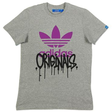 ADIDAS ORIGINALS Graphic Trefoil City Tee