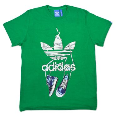 ADIDAS ORIGINALS Graphic Shoelace Tee – Bild 1