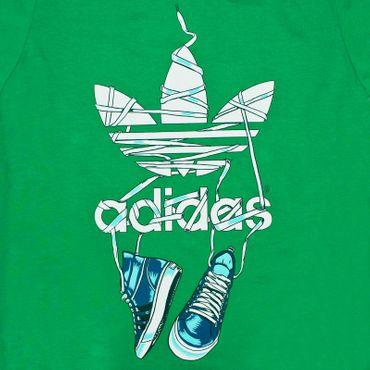 ADIDAS ORIGINALS Graphic Shoelace Tee – Bild 2