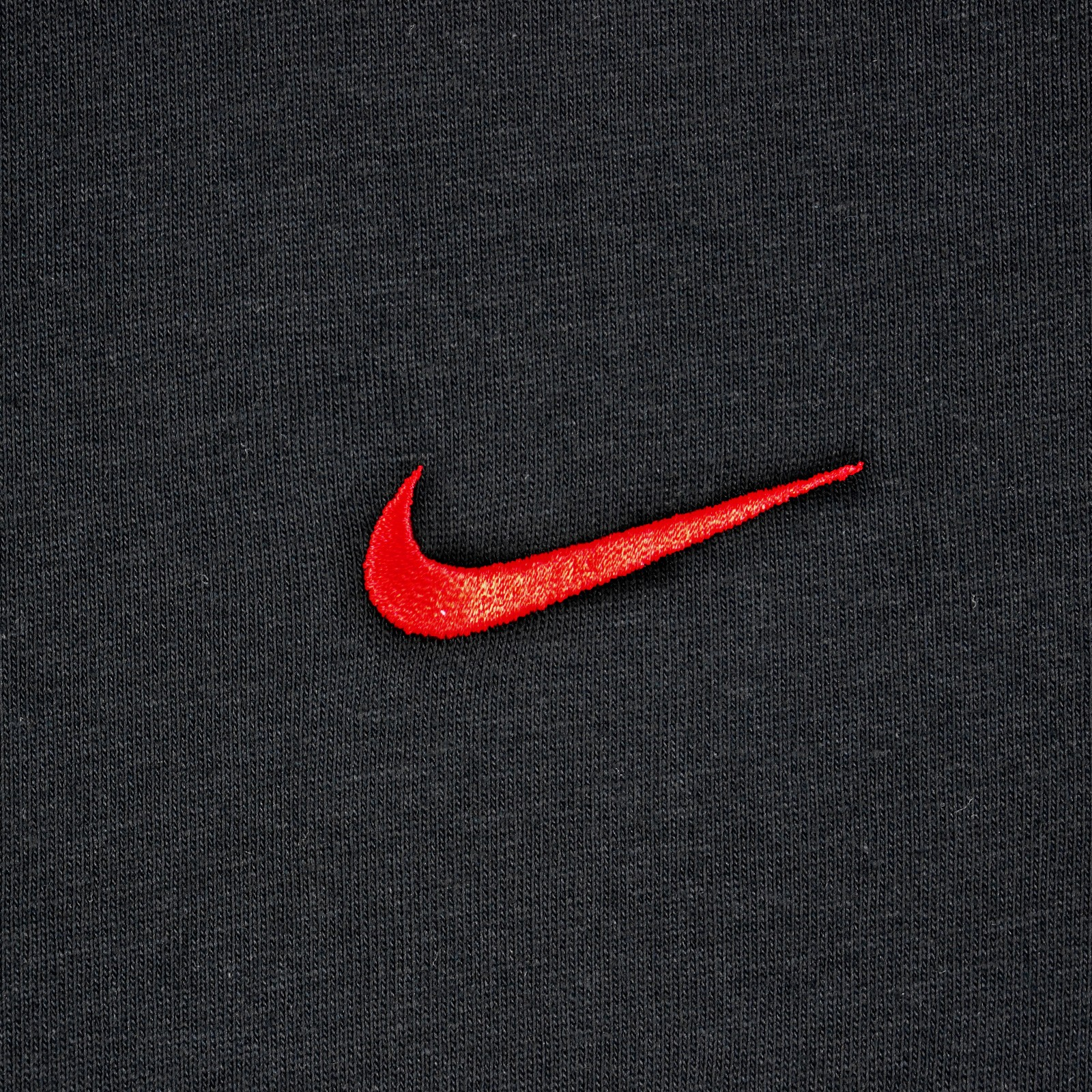 Details About Nike Basic Swoosh Tee Men S Casual Sports Cotton T Shirt Tennis Black Red S