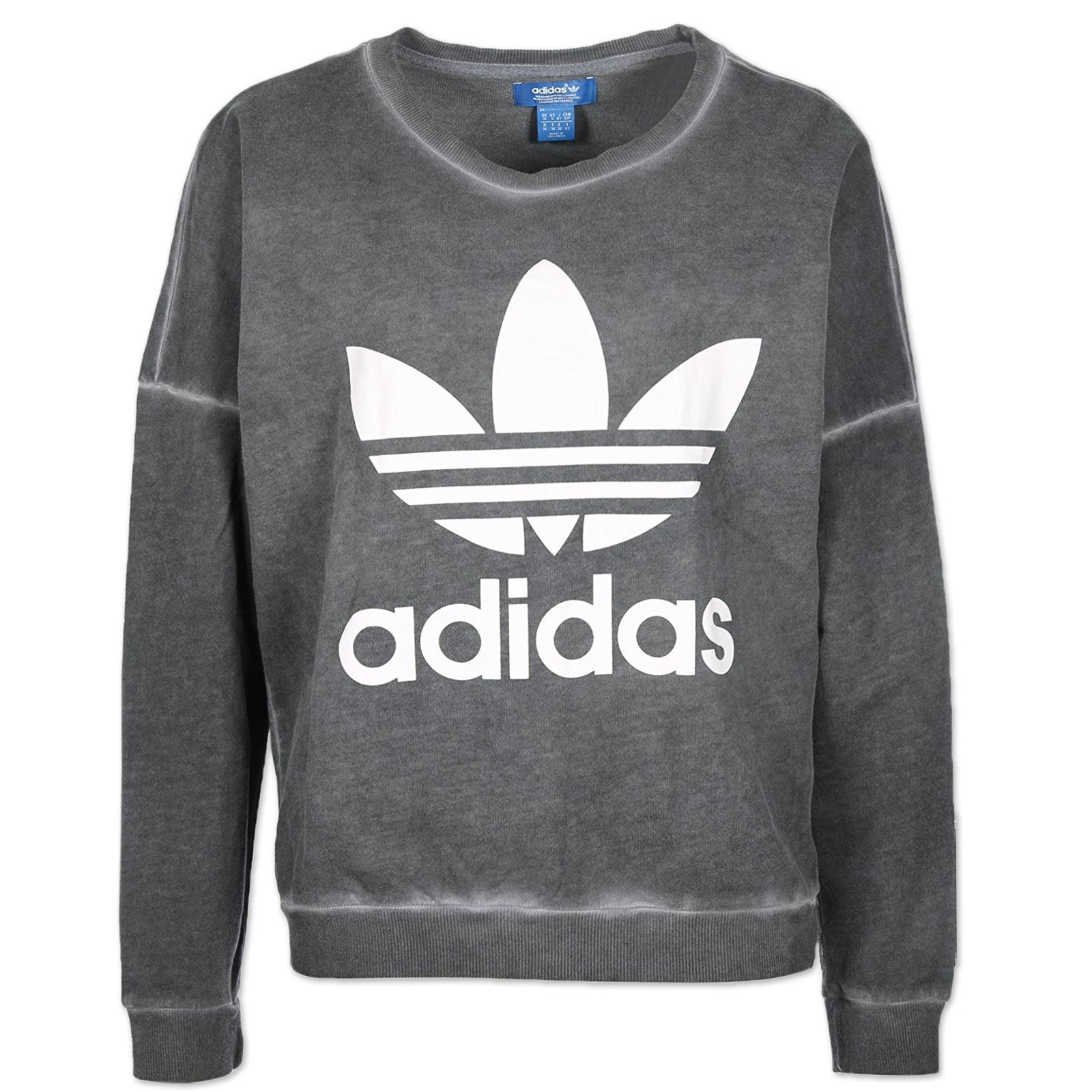 adidas originals sweatshirt damen grau