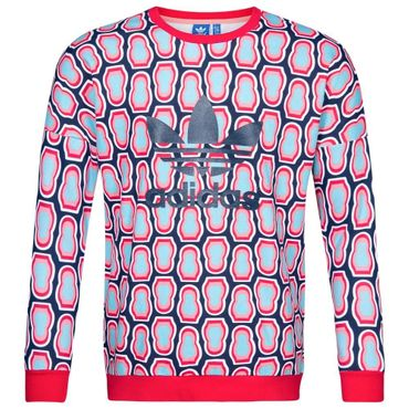 ADIDAS ORIGINALS Kinder All Over Print Crew Sweat – Bild 1