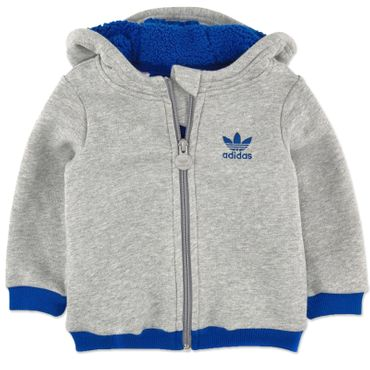 ADIDAS ORIGINALS Teddy Kinder Sweatjacke  – Bild 1