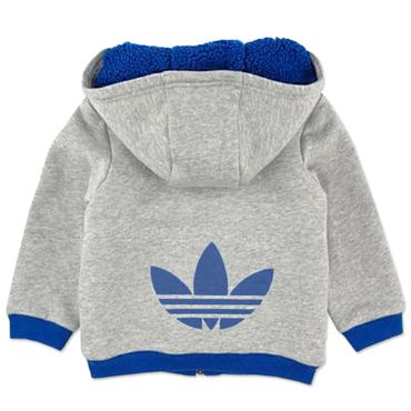 ADIDAS ORIGINALS Teddy Kinder Sweatjacke  – Bild 2