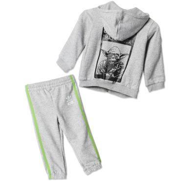 ADIDAS ORIGINALS Kinder Star Wars Yoda Track Suit – Bild 1