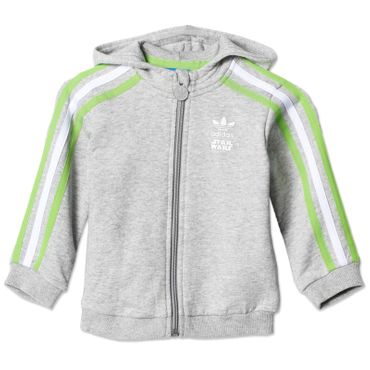 ADIDAS ORIGINALS Kinder Star Wars Yoda Track Suit – Bild 2