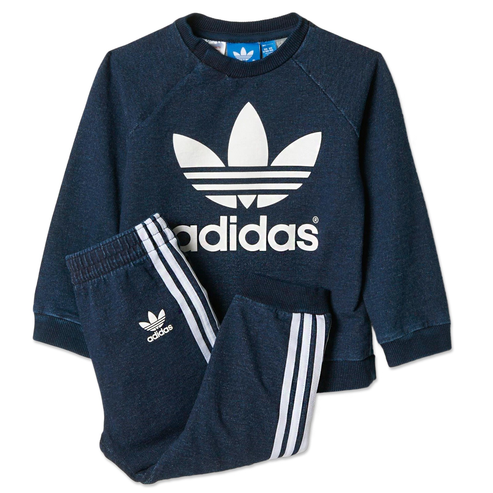 adidas originals jogger kinder crew jeans jogginganzug. Black Bedroom Furniture Sets. Home Design Ideas