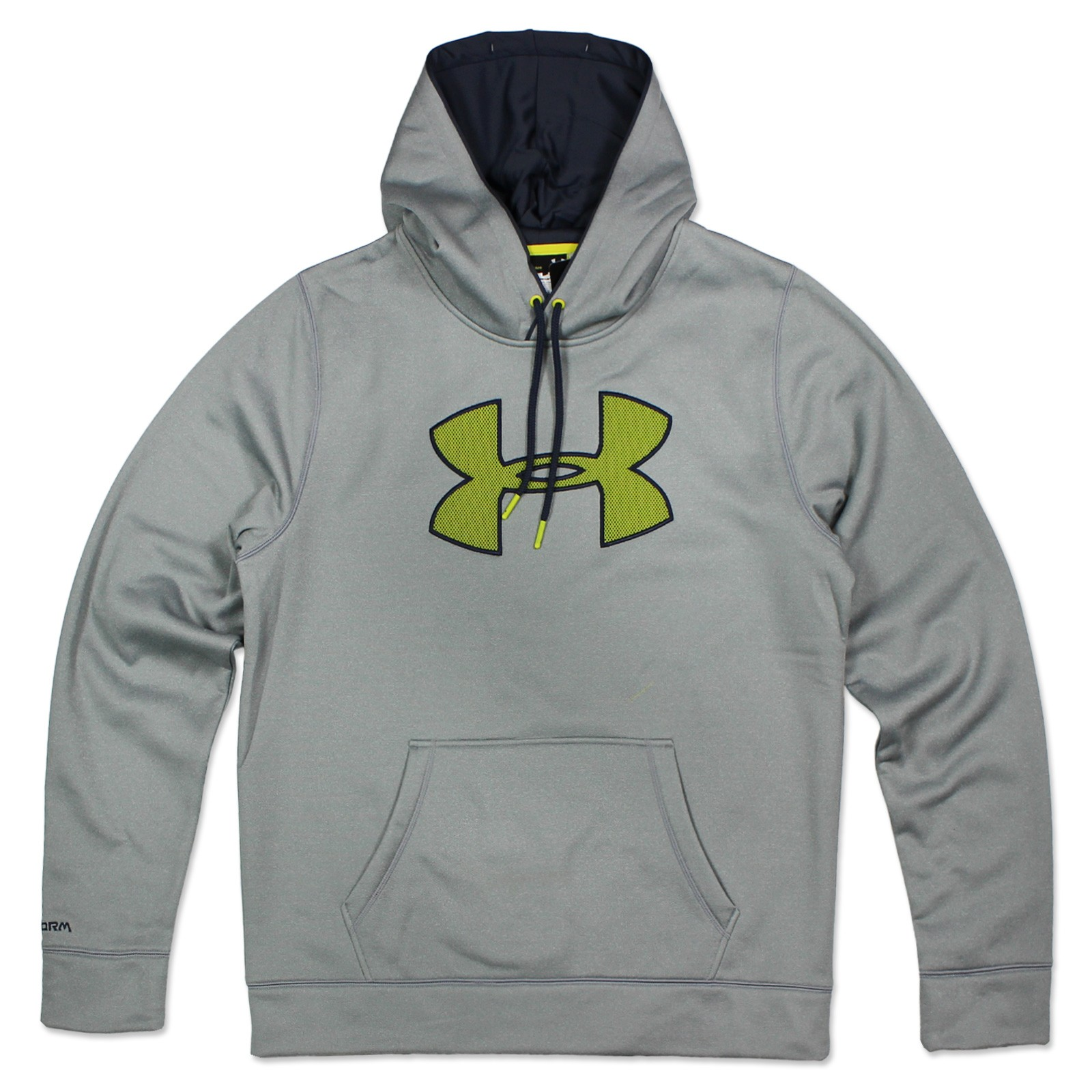Under Armour Mens Storm Warm up Logo Hooded Sweatshirt Ua