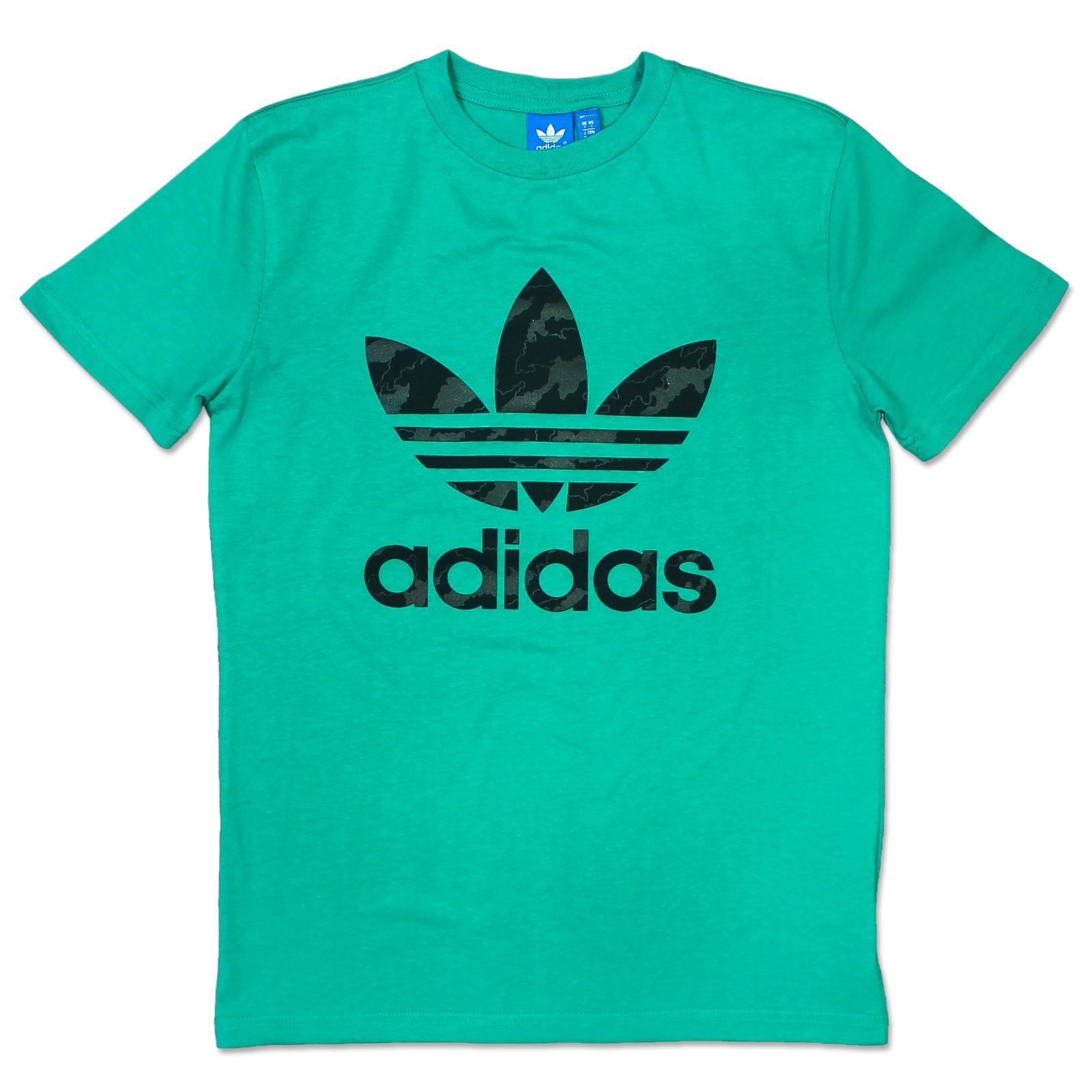 adidas Herren T Shirt Grün