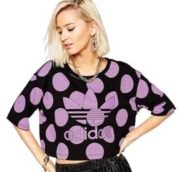 ADIDAS ORIGINALS X PHARRELL WILLIAMS Crop Tee – Bild 1