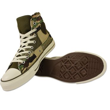 CONVERSE All Star Chucks Militayr Patch Hi – Bild 2