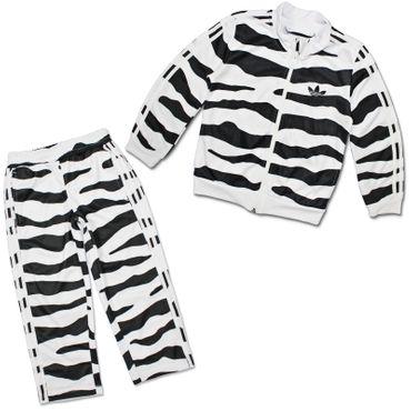 ADIDAS ORIGINALS oBYo JEREMY SCOTT Kinde White Tiger Jogger – Bild 1