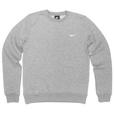 NIKE Brushed Crew Basic Club Fleece Sweatshirt – Bild 1