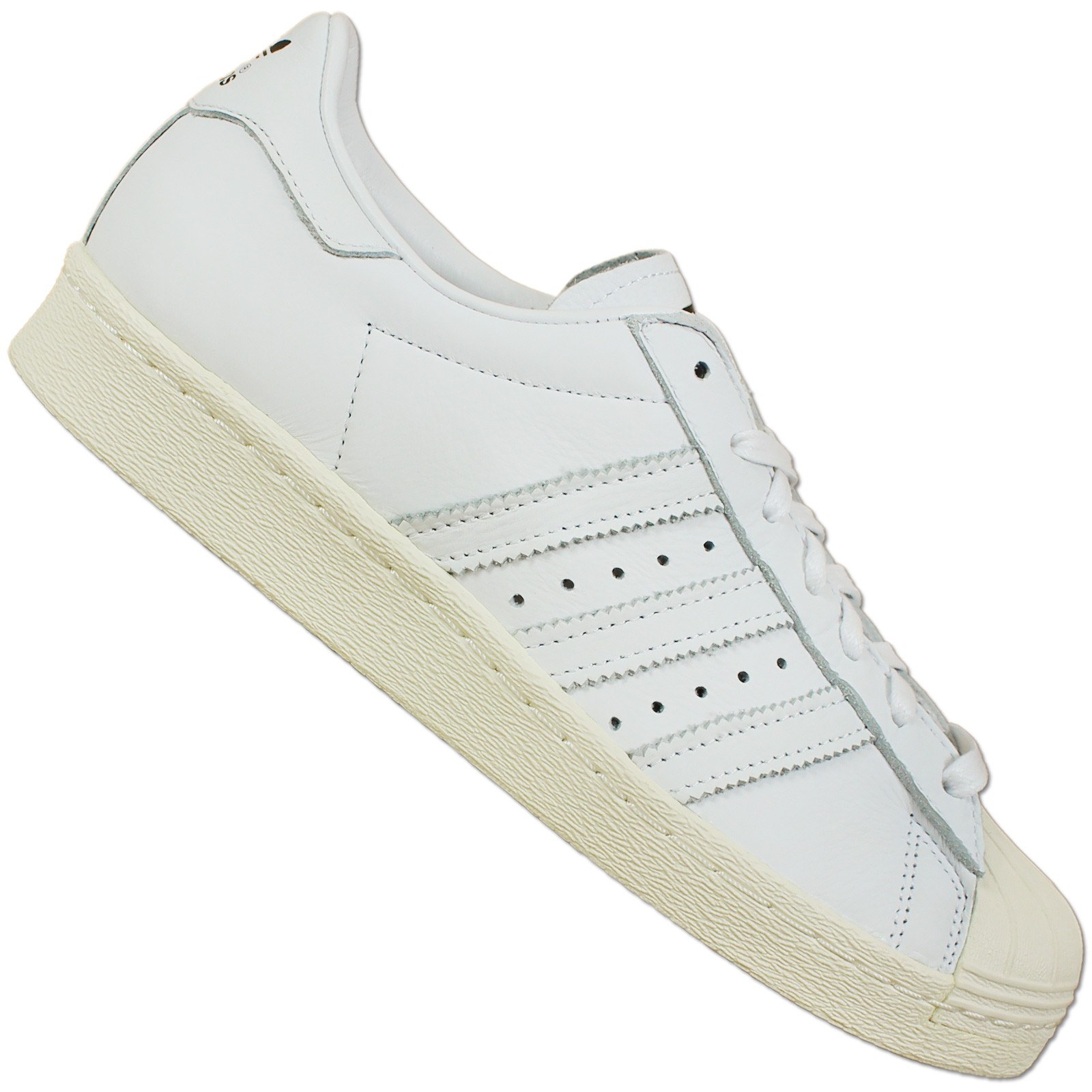 0cdb3c067321 Details about Adidas Superstar 80s Dlx Deluxe S75016 Trainers Special Shoes  Leather White