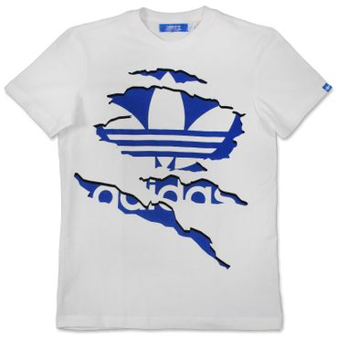 ADIDAS ORIGINALS Graphic Rippe Trefoil Tee