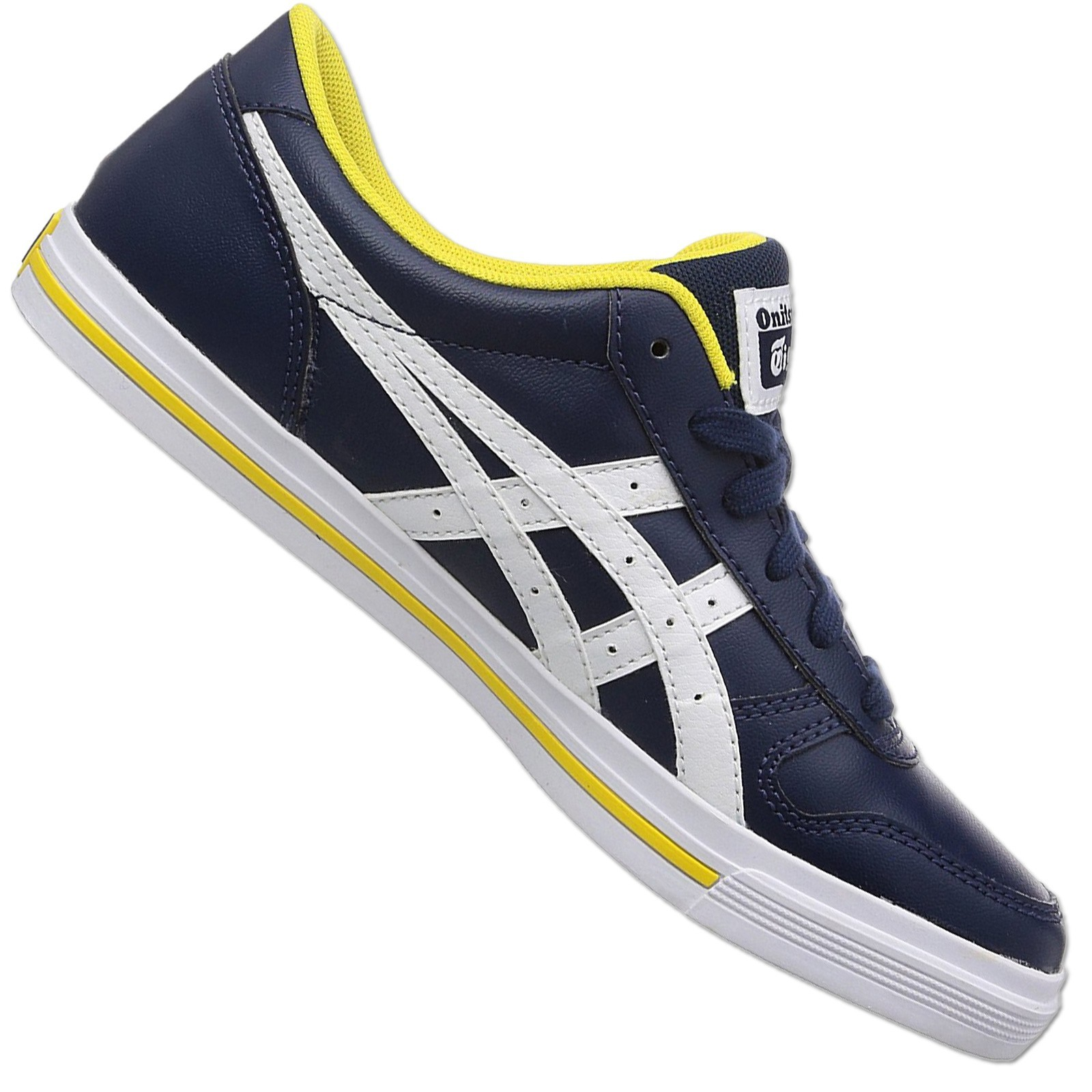 bright n colour best cheap authentic quality Details about Asics Onitsuka Tiger Aaron D3C3Y-5801 Casual Shoes Trainers  Navy White 40/42,5