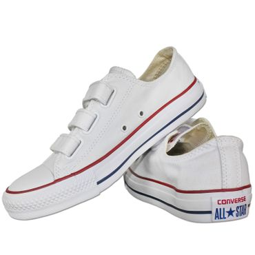 a70f9e81d12 Converse all Star Chuck Taylor 3V Ox White Shoes White Touch ...