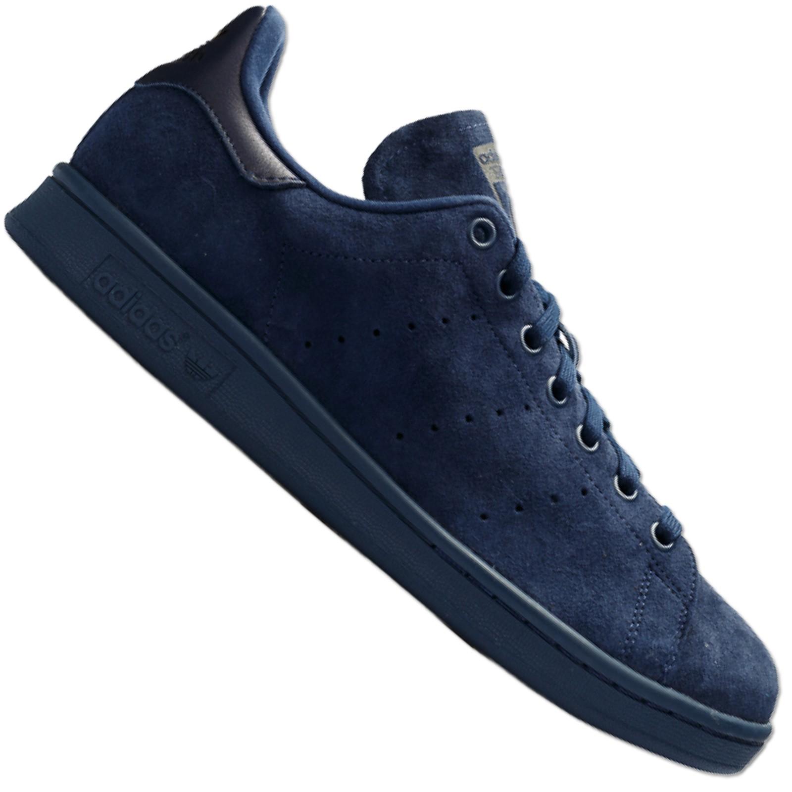 adidas schuhe wildleder blau
