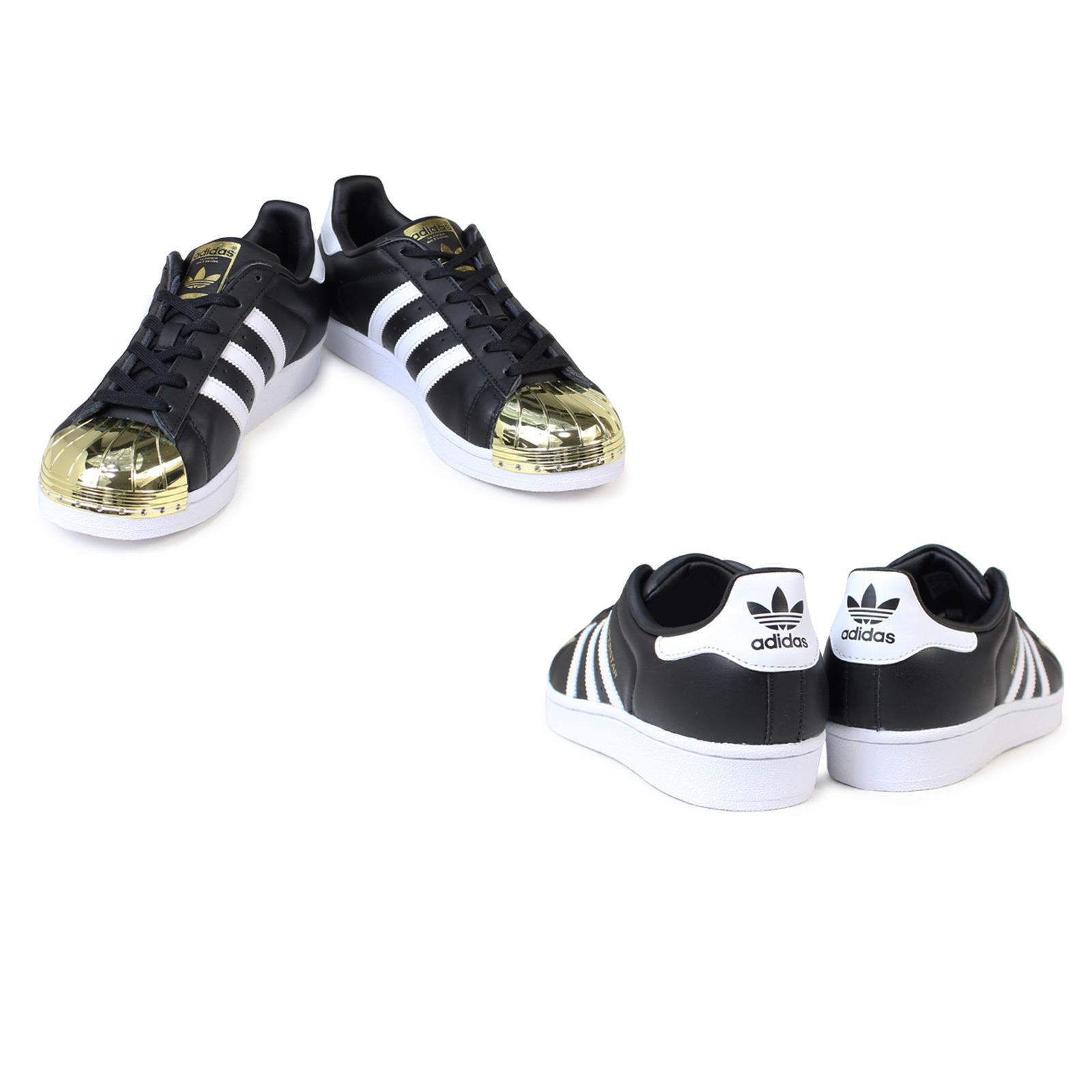 Adidas Schuhe Toe Leder Metal Bb5115 Gold Superstar Sneaker Originals Schwarz ym0wnvN8O