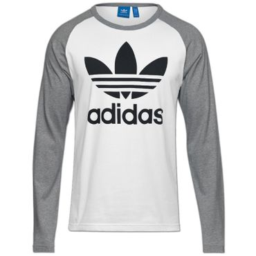 ADIDAS ORIGINALS 3 Stripes Trefoil Longsleeve Shirt