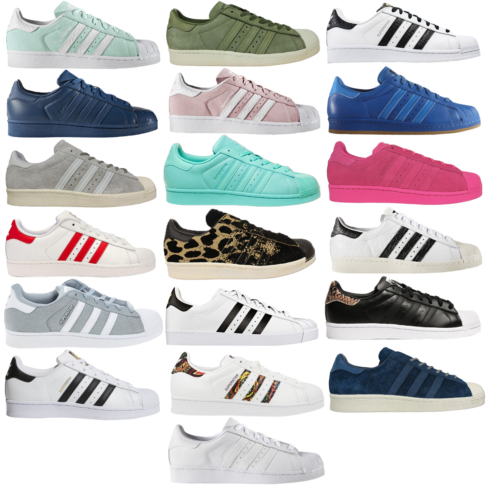 free shipping 021af f0589 Details about Adidas Originals Superstar Sst Unisex Leather Trainers Shoes