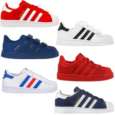 Details about Adidas Originals Superstar Sst Toddler Children's Trainers Shoes Sneakers