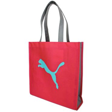 Details about Puma Bag Shopper Casual Bag Universal Pouch Carry Bag Pink  Baby Blue