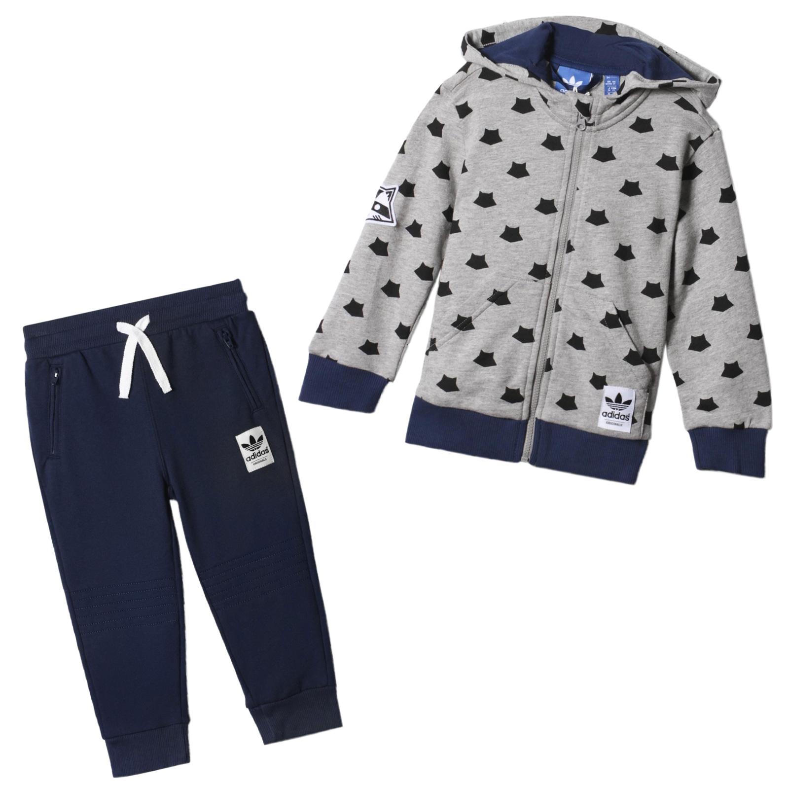 adidas Baby Girls 2 Pc. Jacket & Jogger Pants Set | Kids