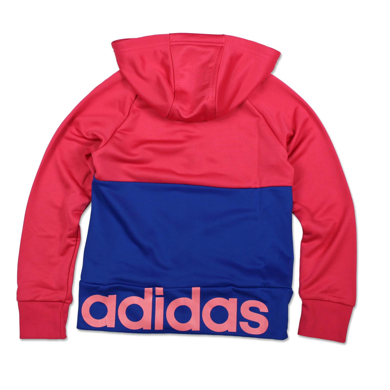 Détails sur Adidas Performance Fille Survêtement Tenue de Sport 2 teiler Rose Bleue 164