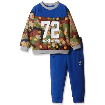 ADIDAS ORIGINALS Kinder Basketball Camo Crew Suit – Bild 3