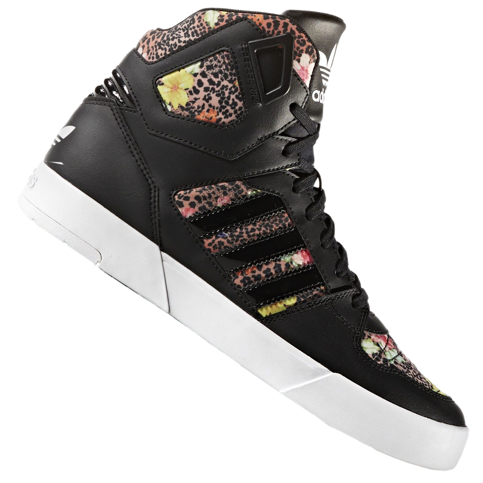 Details about Adidas Originals x the Farm Zestra Hi Top Trainers Oncada Jaguar Leopard Flowers