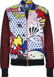 ADIDAS ORIGINALS by RITA ORA POP ART SUPERSTAR SUPER TRACK TOP BOMBER JACKE 001