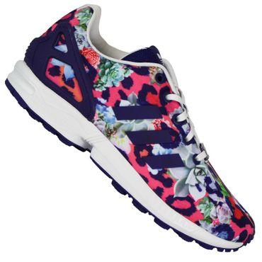 huge discount 1e434 31010 Flujo de Adidas Originals Zx Niñas Zapatillas Deportivas Mujer ...