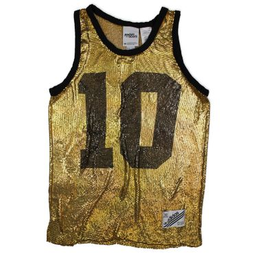 ADIDAS ORIGINALS x Jeremy Scott Metal Mesh Tank Top – Bild 1