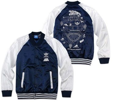 ADIDAS ORIGINALS Star Wars Superstar Satin Bomber Jacke