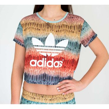 *+ADIDAS ORIGINALS X THE FARM Menire Cropped Tee – Bild 3
