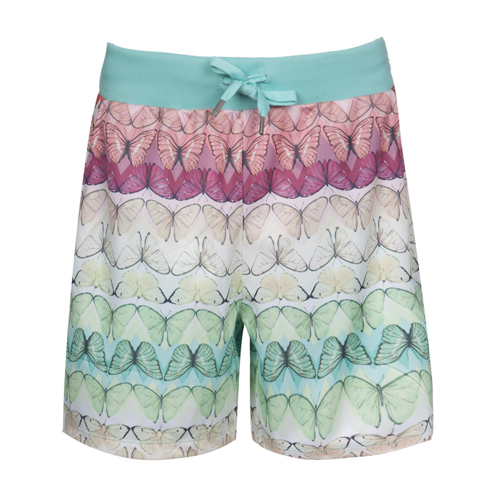 Details about Adidas Originals x the Farm Borbofresh Shorts Sorthoseschmetterling