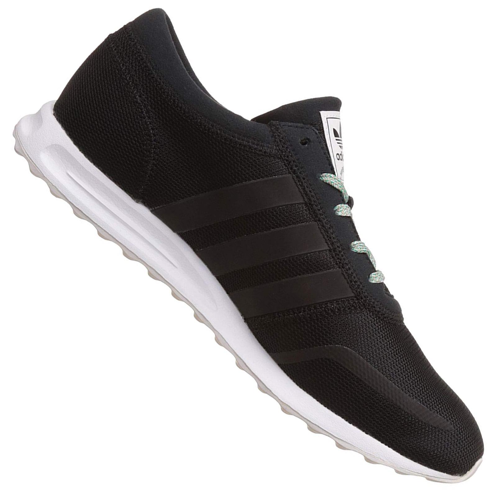 discount sale new high top quality Adidas Originals Kinder Los Angeles Sneaker La Trainer BB2466 Schwarz Weiß